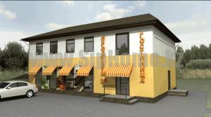 Гостиница_кафе из сип панелей