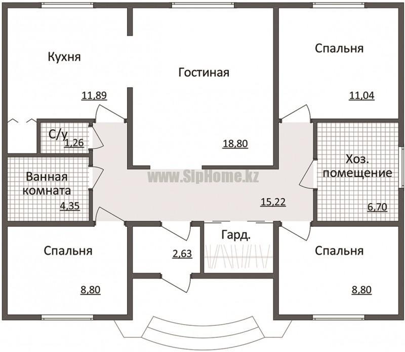 Чертежи домов планировка комнат