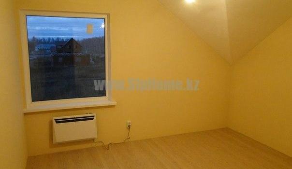 Возведенный нами дом 160 м² из СИП панелей в Алматы_кабинет