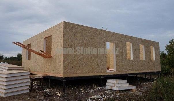 Дом 91 м² из СИП  панелей4