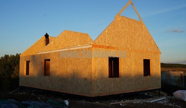 Дом 91 м² из СИП  панелей7