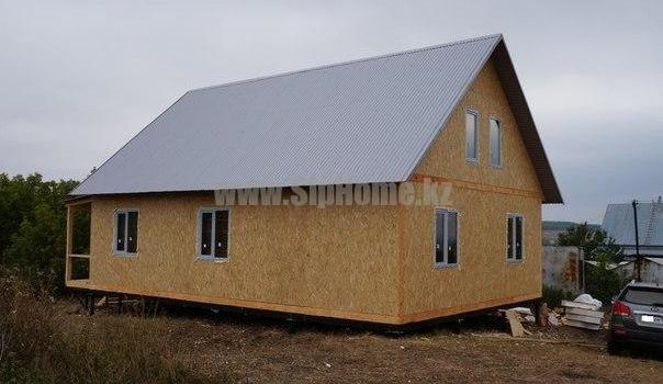 Дом 91 м² из СИП  панелей9