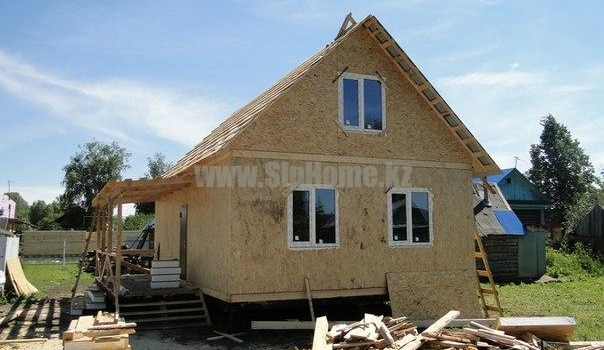 Загородный дом 62,5 м² из SIP-панелей