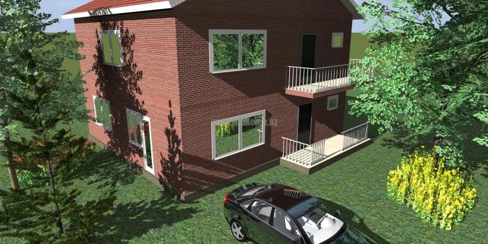 Проект дома «Хельсинки» 180 кв.м. из SIP панелей