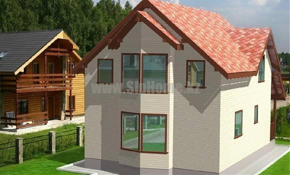 Проект дома «Альма» 172 кв.м. из SIP панелей