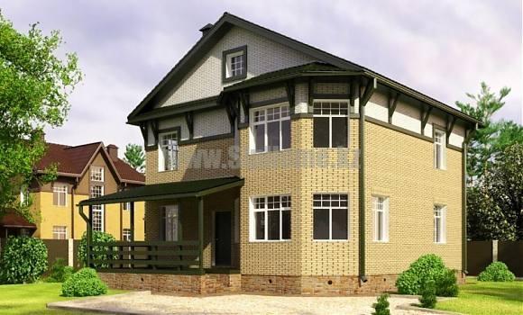 «Гринвич» — проект дома 196 кв.м из SIP панелей — 7 889 980 тенге