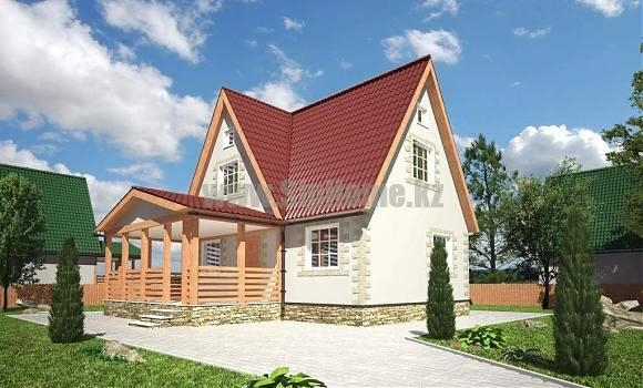Проект дома «Орилия» 100 кв.м. из SIP панелей