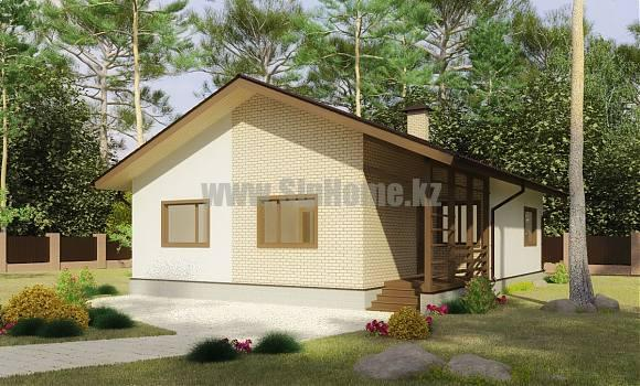 «Робсон» — проект дома 117 кв.м из SIP панелей — 2 430 144 тенге