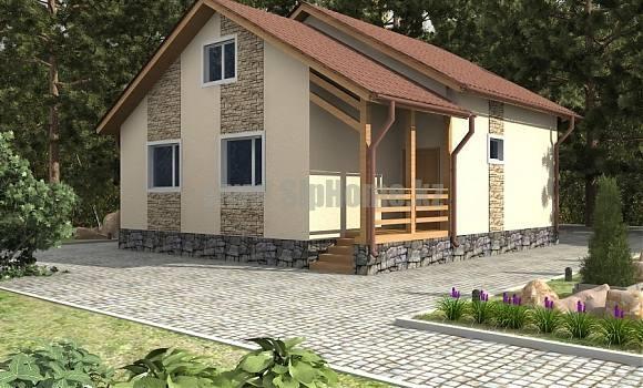 «Норт» — проект дома 180 кв.м из SIP панелей — 7 245 900 тенге