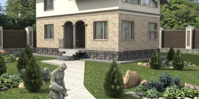 Проект дома «Эдмонтон» 121 кв.м. из SIP панелей