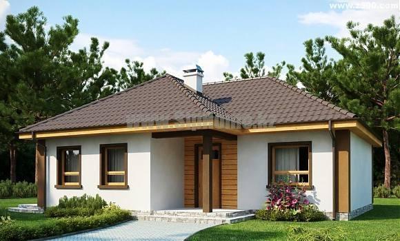 Проект дома «Валенсия» 116 кв.м. из SIP панелей