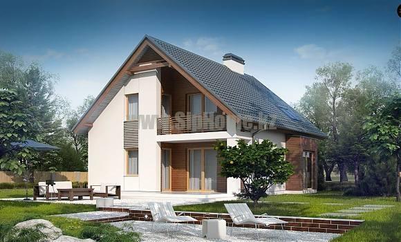 Проект дома «София» 238 кв.м. из SIP панелей