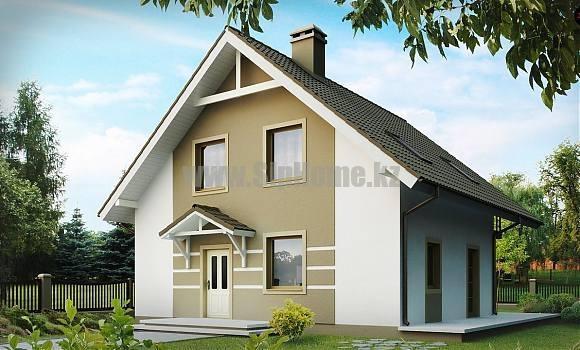 Проект дома «Ривьера» 185 кв.м. из SIP панелей
