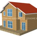 Проект дома 167 кв.м. из SIP панелей