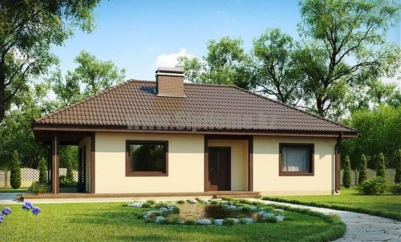 «Амальфи» — проект дома 116 кв.м из SIP панелей — 4 699 580 тенге