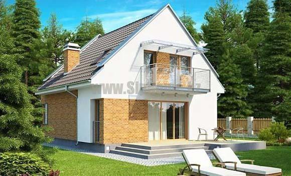 «Римини» — проект дома 160 кв.м из СИП панелей — 6 440 800 тенге