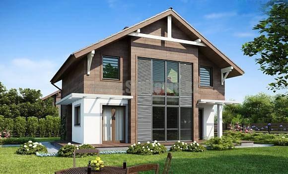Проект дома «Анкона» 167 кв.м. из SIP панелей