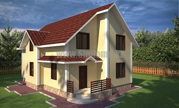 Проект дома «Орфорд» 250 кв.м. из SIP панелей
