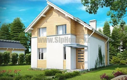 «Турин» — проект дома 180 кв.м из SIP панелей — 7 245 900 тенге
