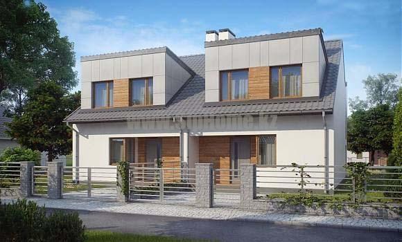 Проект дома «Трентино» 350 кв.м. из СИП панелей