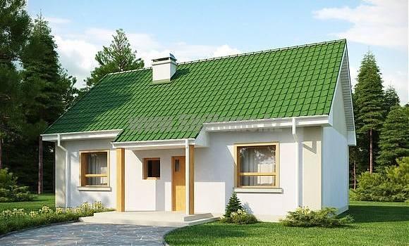 «Ковентри» - проект дома 88 кв.м из SIP панелей - 3 903 504 тенге