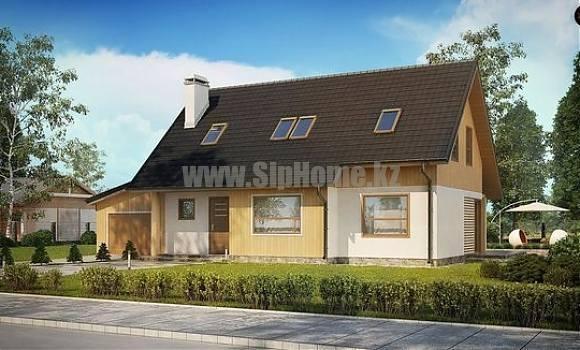 «Джеймстаун» — проект дома 260 кв.м из SIP панелей — 10 466 300 тенге
