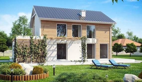 Проект дома «Салерно» 160 кв.м. из SIP панелей