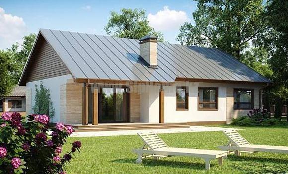 Проект дома «Кальяри» 160 кв.м. из СИП панелей