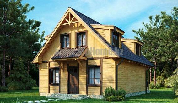 «Честер» — проект дома 172 кв.м из SIP панелей — 2 963 499 тенге