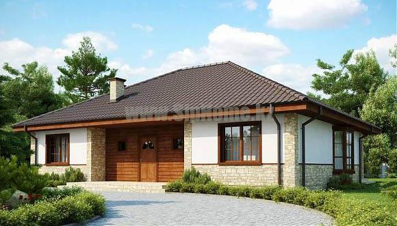 Проект дома «Норидж» 175 кв.м. из SIP панелей