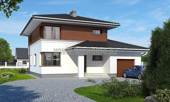 «Меристаун» — проект дома 235 кв.м из SIP панелей — 9 459 925 тенге