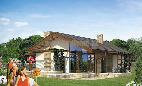 «Мэйфилд» - проект дома 140 кв.м из SIP панелей - 7 914 815 тенге
