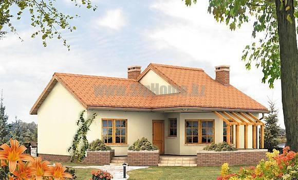 «Асколи» — проект дома 110 кв.м из SIP панелей — 4 428 050 тенге