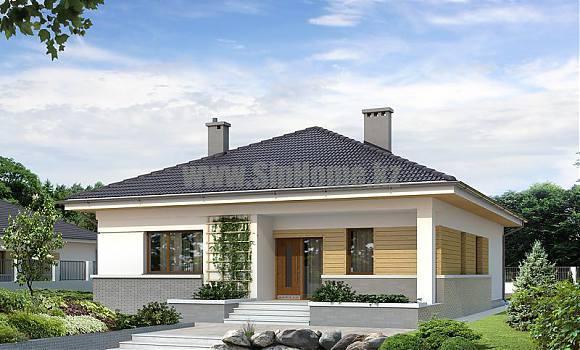 «Моррис» - проект строительства каркасного дома, 208,5 кв.м - 9 133 228 тенге