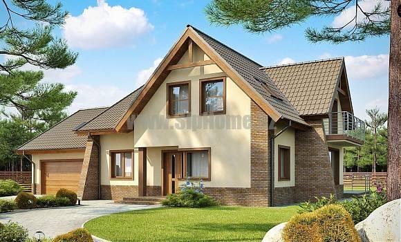 Проект дома «Бристоль» 498 кв.м. из SIP панелей