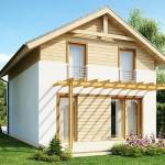 """Проект дома """"Трентон"""" 147 кв.м. из SIP панелей"""