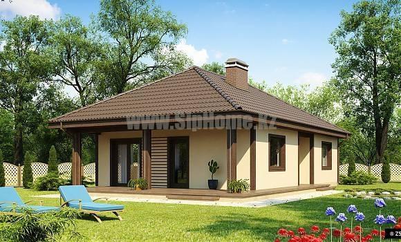 Проект дома «Рейнбоу» 116 кв.м. из SIP панелей
