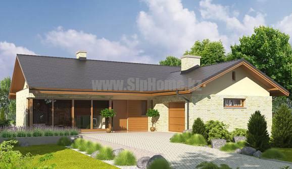 Проект дома «Гейнджес» 220 кв.м. из SIP панелей