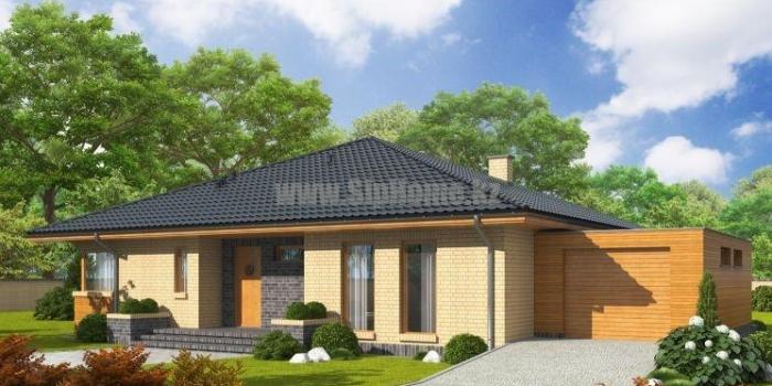 Проект дома «Мерида» 190 кв.м. из SIP панелей