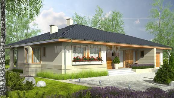 «Галифакс» - проект дома 134,6 кв.м из SIP панелей - 5 418 323 тенге