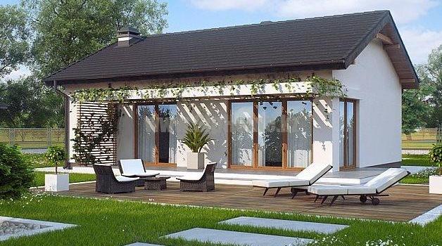 «Клермонт» — проект дома 95,8 кв.м из SIP панелей — 4 249 496 тенге