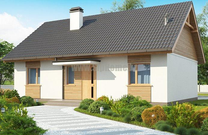 «Хартвилл» - проект дома 105,3 кв.м из SIP панелей - 4 238 852 тенге