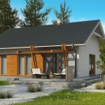 """Проект дома """"Лагрейндж"""" 98,7 кв.м. из SIP панелей"""