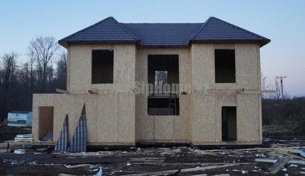 Дом из СИП панелей для портфолио 210 м² [2013 г.]