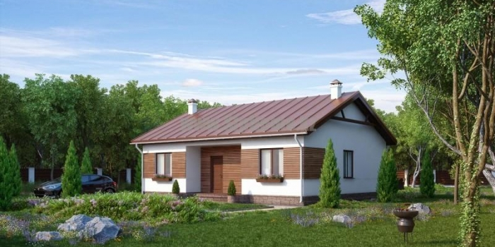 Проект дома «Стивенвиль» 90 кв.м. из SIP панелей — 4 050 000 тенге