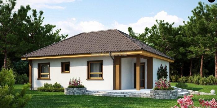 Проект дома «КокТобе» 116,2 кв.м. из SIP панелей — 6 700 258 тенге
