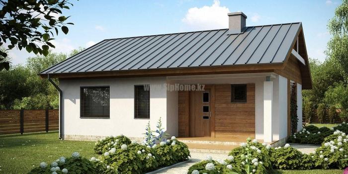 Проект дома «Луисбург» 92,2 кв.м. из SIP панелей