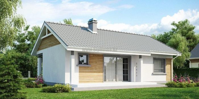 «Джолит» — дом из СИП-панелей, площадью 109,62 кв.м с террасой — 4 779 081 тенге