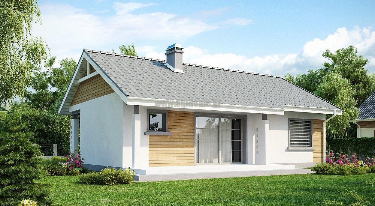 «Джолит» - дом из СИП-панелей, площадью 109,62 кв.м с террасой - 4 779 081 тенге