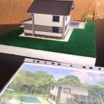 Макет дома из SIP панелей
